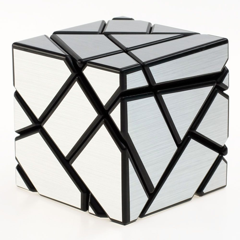 a puzzle that looks like a mirror cube but it has way more diffrent pieces